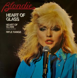 "Blondie ‎- Heart Of Glass (12"")  (VG+/VG-)"